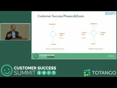 [TRACK 2]  Zooming To Success - Zoom's Success Story - Customer Success Summit 2017
