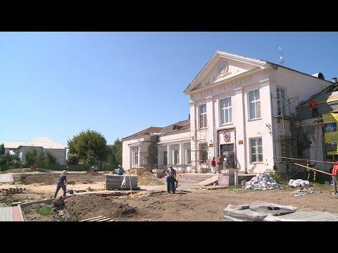 В Краснослободске ремонтируют ДК «Остров»