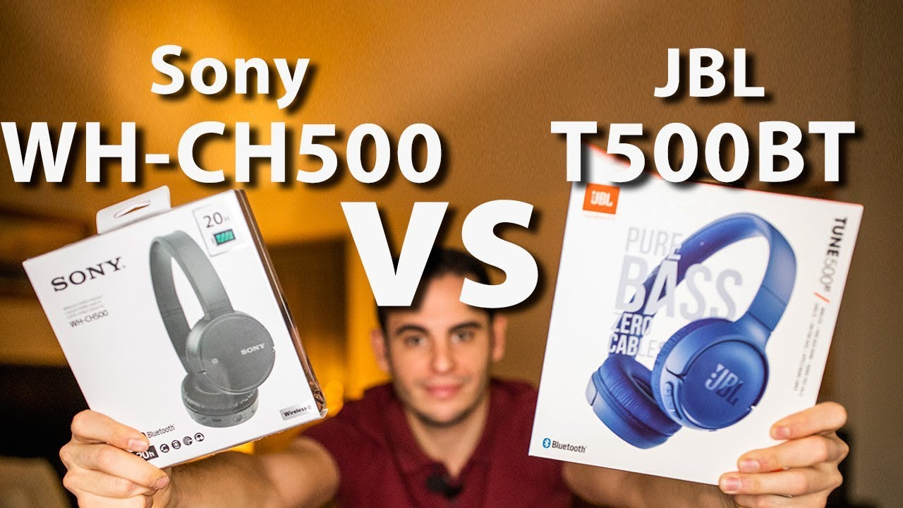 Sony Wh Ch500 Vs Jbl T500 Bt Which One Is Better