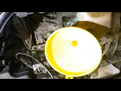 Частичная замена масла в АКПП Мазда СХ 5