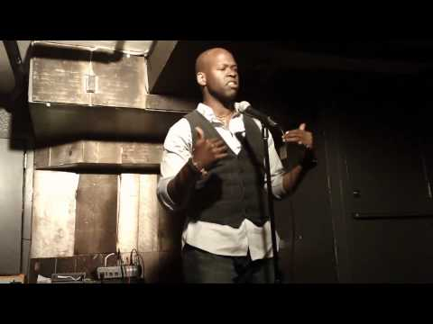 Actor/Spoken Word Poet D-Black @ Mike Geffner Presents The Inspired Word - Part 2