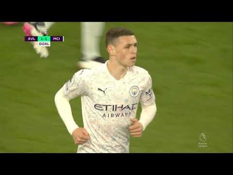 Aston Villa Manchester City Goals And Highlights