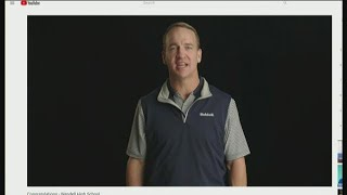 Peyton Manning announces $10,000 grant to Idaho high school's football program