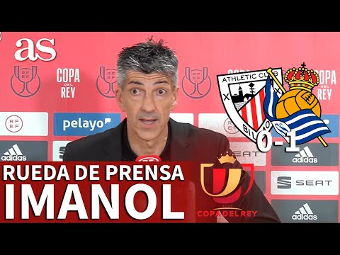 FINAL COPA (2020) | ATHLETIC 0-REAL SOCIEDAD 1 | Rueda de prensa de IMANOL | AS