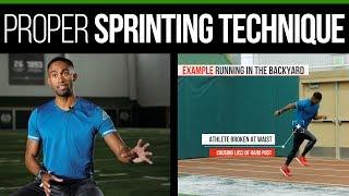 Proper Sprinting Technique - Posture