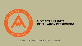 The cleanest, fastest way to install electrical connections to the cabin of your van. Our Sprinter van conversion Electrical Harness is a complete wiring solution for ...