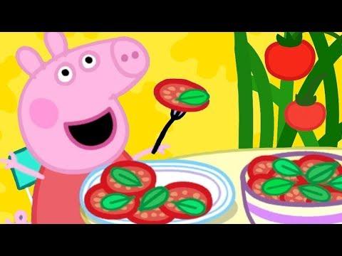 Peppa Pig Nederlands Compilatie Nieuwe Afleveringen 🍅 Lunch Met Peppa | Tekenfilm | Peppa de Big