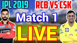 IPL 2019: RCB Vs CSK Channel App, Match Timming