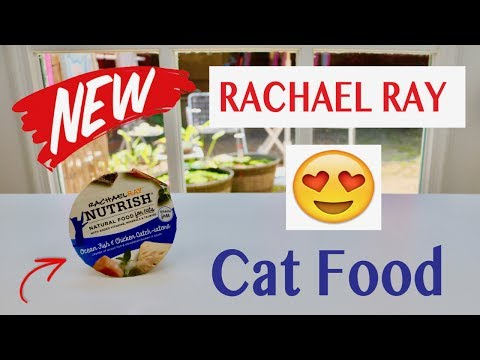 😍    Rachael Ray  ❤️ Nutrish  Ocean Fish And Chicken Catch-iatore  Cat Food  - Review  ✅
