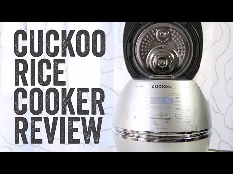 CUCKOO RICE COOKER PRODUCT REVIEW : DHSR0609F - Chef Julie Yoon