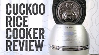 CUCKOO RICE COOKER PRODUCT REV…