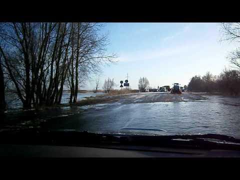 Potvynis 2012. Kelias Šilutė - Rusnė