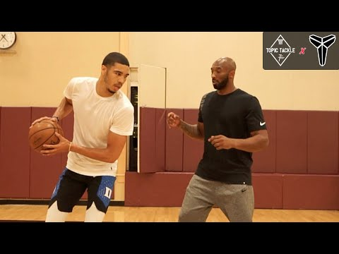 Kobe Taught Jayson Tatum his SIGNATURE MOVES in Workout & IT SHOWS