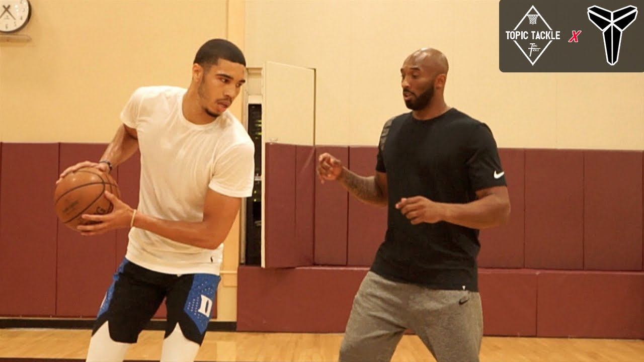 Download Kobe Taught Jayson Tatum his SIGNATURE MOVES in Workout & IT SHOWS