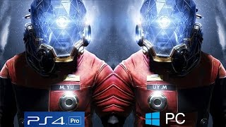 PREY - PS4 PRO vs PC Ultra Settings On GTX 1080TI