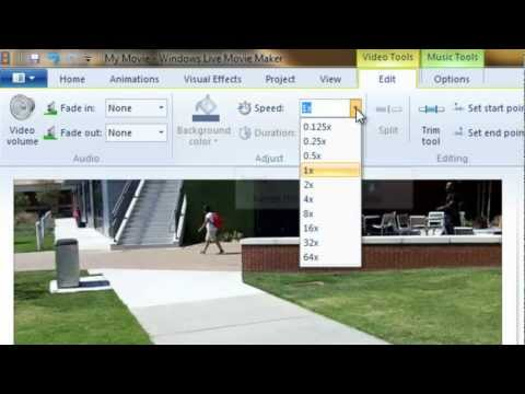 Windows Live Movie Maker: Background Music and Audio
