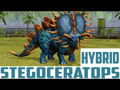 STEGOCERATOPS - LEVEL 40 - HYBRID DINO - Jurassic World The Game