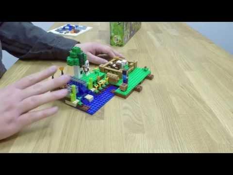 The Farm - LEGO Minecraft - Rebuild 21114