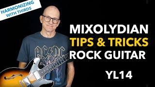 Mixolydian Guitar Lesson for Rock Guitarists - harmonizing with 3rds