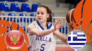 Montenegro v Greece - Full Game - FIBA U16 Women's European Championship Division B 2018 thumbnail