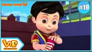 Vir: The Robot Boy | Rage Of Gintu | 3D Action Cartoon For Kids | Cartoon In English | Wow World