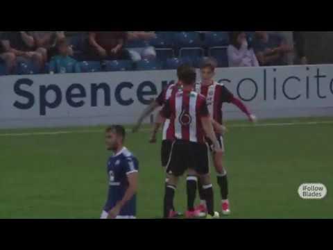 Chesterfield 1-2 Blades - goals