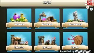 Os guerreiros de clash of clans... #3 Uouuu cheio de moedas, e elixir..