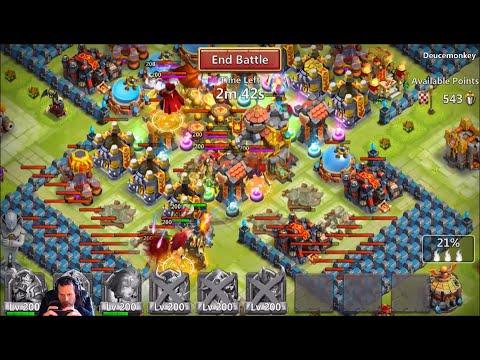 Guild Wars Attacks Plus Ice Cream Cone Event Hoping 4 Medusa Castle Clash