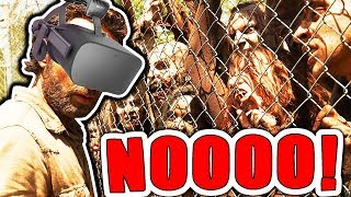 EXPERIENCE A Zombie Attack IN VIRTUAL REALITY! | Oculus Rift VR + Touch Gameplay)