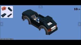 How to make Cars in Lego Digital Designer - 3 in 1 !!!