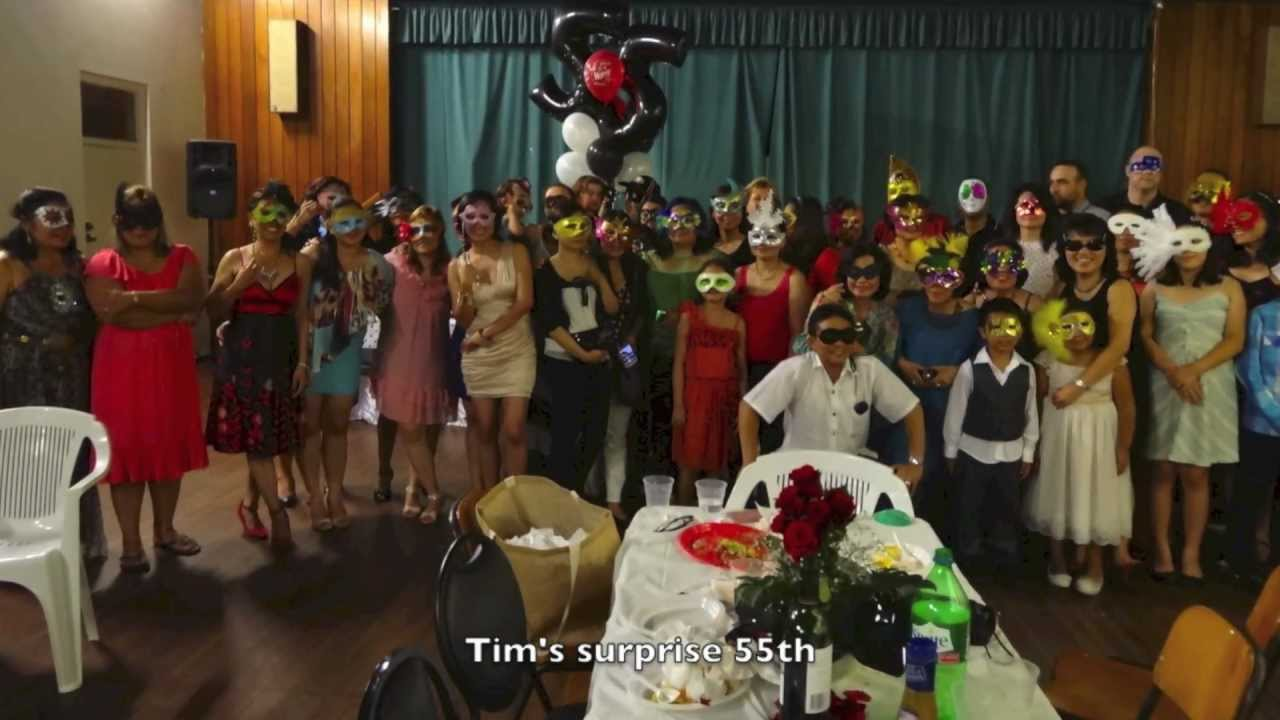Tims Surprise 55th Birthday Party