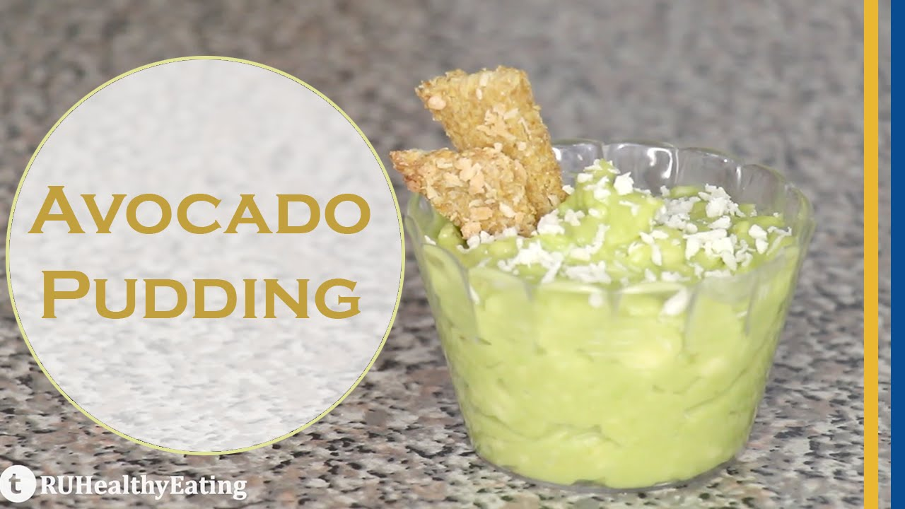 Quick & Easy Healthy Avocado Pudding Recipe by | RU ...
