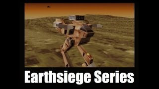 EARTHSIEGE Mech Simulation games by Dynamix / Sierra On-Line