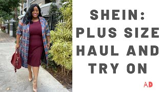 SHEIN: Plus Size Haul + Try On AD