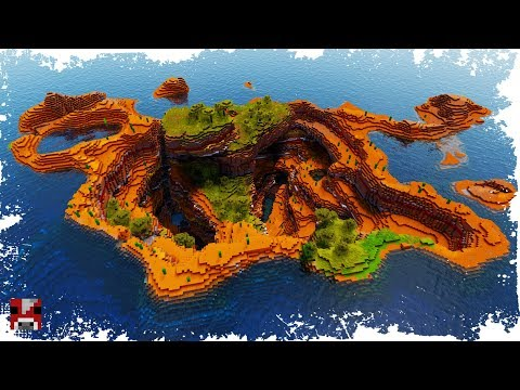Minecraft Timelapse - EPIC Mesa Biome Transformation! - (WORLD DOWNLOAD)