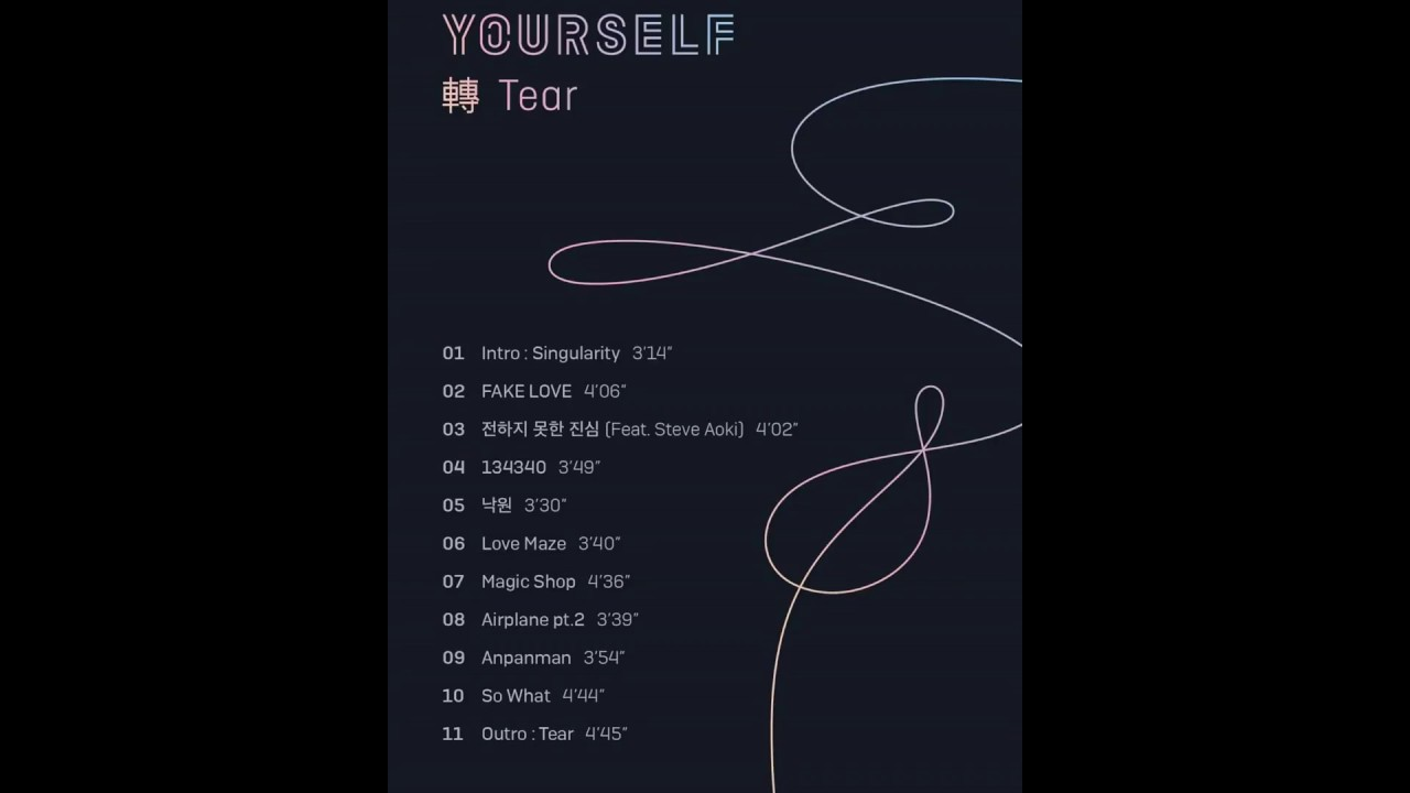 bts love yourself album free download