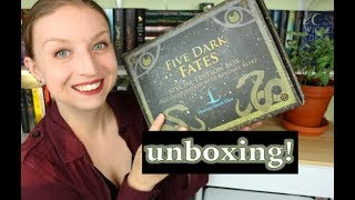 Unboxing | Beacon Book Box | Five Dark Fates Box!