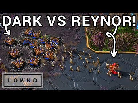 StarCraft 2: The ULTIMATE LATE GAME of Zerg vs Zerg! (Dark vs Reynor)