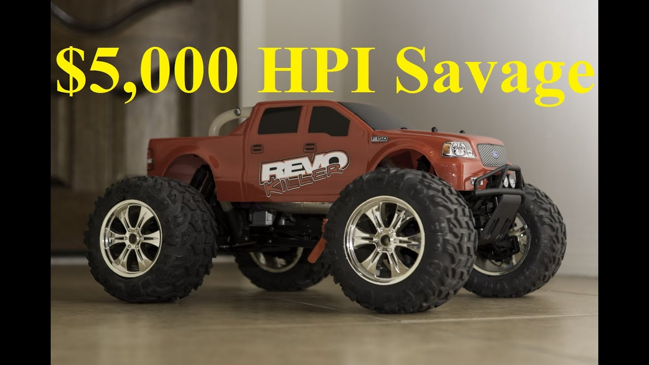 $5 000 HPI Savage Hybrid Revo Killer