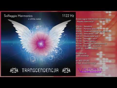SOLFEGGIO HARMONICS & white noise 1122  Hz