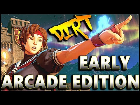 SFVAE - Early Arcade Edition Crazyness | Compilation - SF5