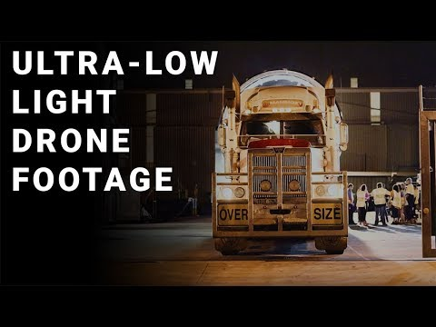 Night Time Shoots - Our Ultra-Low Light Capabilities