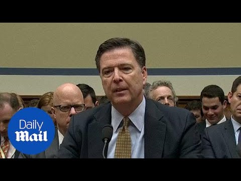 James Comey rejects Trump's accusation that Obama wiretapped him - Daily Mail