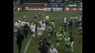 St Mirren 0 Celtic 5 1986