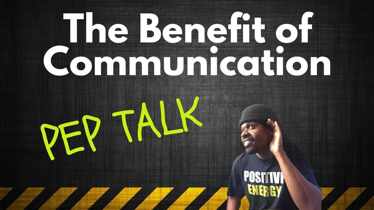 Pep talk communication youtube pep talk communication fandeluxe PDF