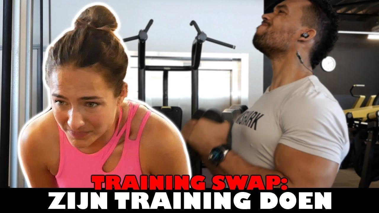 NOCHTLI DOET ZIJN TRAINING | training swap!