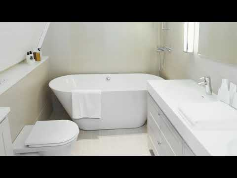 ★ TOP 40 ★ Small Narrow Bathroom Ideas With Tub And Shower