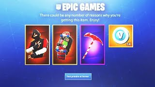 "RE-SERTHIS ""EXCLUSIVE PACK"" FREE on Fortnite!"