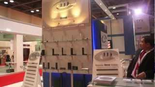 Conares stand at TEKNO Arabia 2013 designed and built by Big Exhibitions.