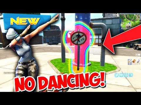 WHERE TO FIND 5 NEW FORBIDDEN DANCE LOCATIONS in FORTNITE! Fortnite Battle Royale Season 3 Challenge